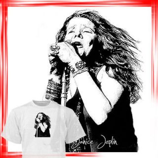 Janis Joplin T shirt Led Zeppelin Pink Floyd drawings are available