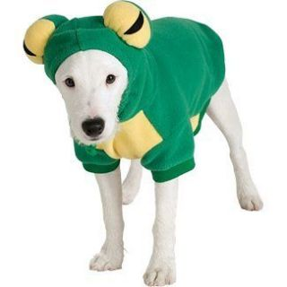 Frog Tree Green Animal Cute Dress Up Halloween Pet Dog Cat Costume