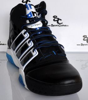 Adidas adiPower Howard 2 II black white blue mens basketball shoes NEW