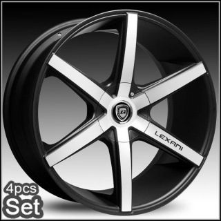 22inch Lexani R Six Wheels Rims Chevy Escalade Ford 5 and 6 Lug