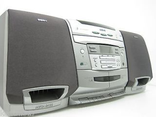 Sony Boombox CFD  C1000 Portable Stereo CD Cassette Player Recorder