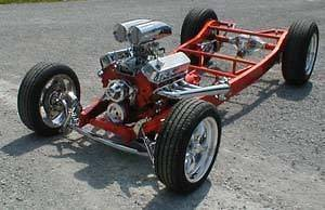 34 FORD CHASSIS, RAT ROD, RAT RODS, FORD OTHER, NEW FRAME. CUSTOM