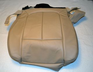OEM FORD F SERIES F150 LARIAT FRONT RIGHT SEAT COVER BOTTOM LEATHER