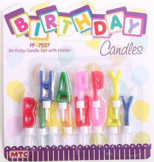 happy birthday candles in Holidays, Cards & Party Supply
