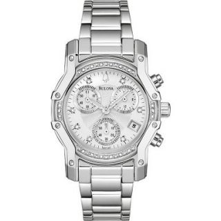 Newly listed Sale Bulova Ladies Diamond Dress Watch 96R138