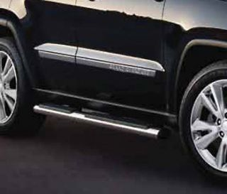 2011 2012 JEEP GRAND CHEROKEE SIDE STEPS RUNNING BOARDS NERF BARS
