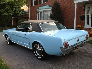 Ford  Mustang MUSTANG 289 1965 FORD MUSTANG COUPE MINT SHOWROOM LOW