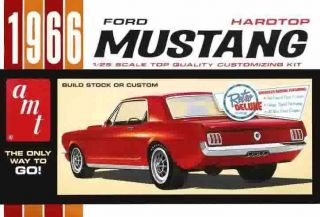 AMT 1966 Ford Mustang Plastic Model Car Kit AMT704 BY AMT NEW