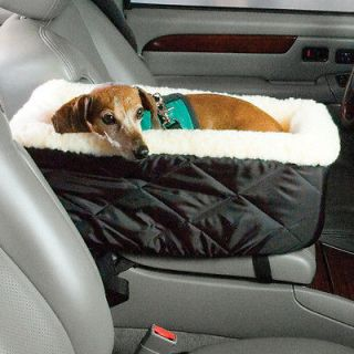 LOOKOUT CONSOLE DOG CAR SEAT PET SAFETY BOOSTER TEACUP FOR DOGS UP TO