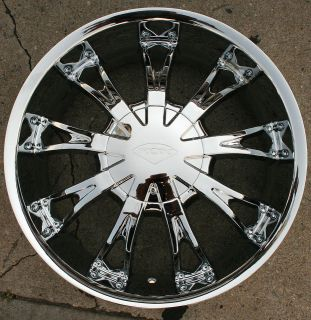 ROX SHOW 320 20 CHROME RIMS WHEELS CADILLAC SRX UPLANDER / 20 X 8.5