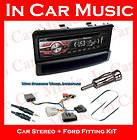 iPhone Stereo CD  USB Aux in Player & Ford Focus Car Stereo Kit