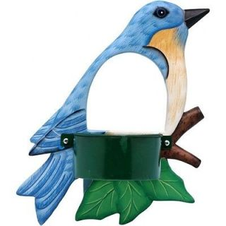 NEW WINDOW MOUNTED BIRD FEEDER WITH BLUEBIRD