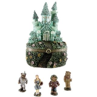Boyds Bears Resin THE EMERALD CITY 4020924 Treasure Box Wizard Of Oz