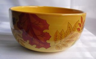Beautiful Gates Ware Laurie Gates Fall Autumn Leaves Cereal Bowl 6