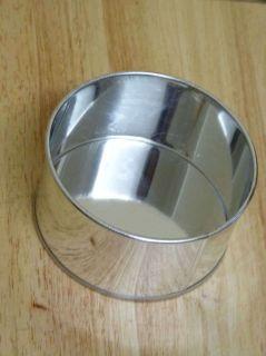 Round Aluminium Sponge Mini Small Bake Cake Tin Pan 85mm x 55mm