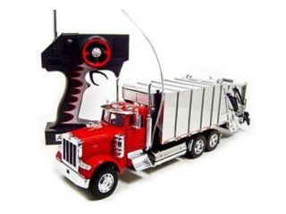 Remote Control Peterbilt 379 Garbage Dump Truck Rc Car.