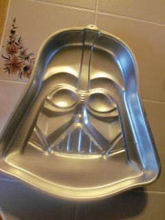 Star Wars Darth Vader birthday Cake Pan Original 502 1409 Discontinued
