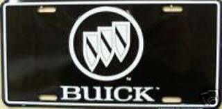 BUICK METAL LICENSE PLATE AUTO CAR TAG NUMBER #2000