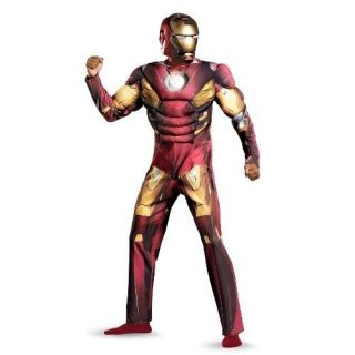 IRON MAN Mark VII 2012 Avengers Adult Muscle Costume Size 50 52