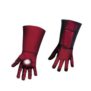 IRON MAN Mark VII Avengers Deluxe Child Costume GLOVES Disguise 43716