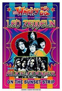 ROCK Led Zeppelin at the Whisky A Go Go on the Sunset Strip Concert