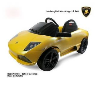 Lamborghini LP640 R/C Battery Baby Kids Ride On Toy Car Power Wheels