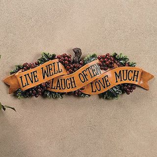 live laugh love wall decor in Decals, Stickers & Vinyl Art