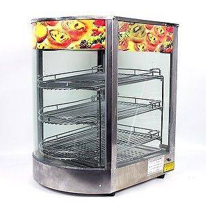 New MTN Commercial Stainless Steel Countertop Food Pizza Display