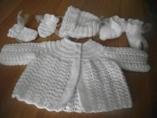 hand knitted baby in Clothing,