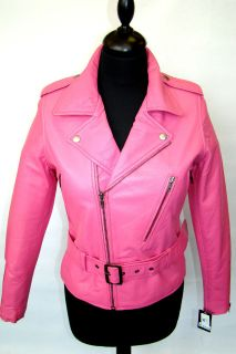 girls pink leather jacket in Kids Clothing, Shoes & Accs