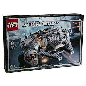 LEGO STAR WARS EPISODE 111 MILLENIUM FALCON 4504 FAST POST 985 PIECES