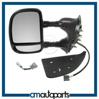 Super Duty Truck Towing Power Side View Door Mirror Driver Left LH