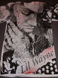 LIL WAYNE Young Money T Shirt **NEW band music concert tour