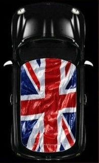 BMW MINI COOPER Car Roof Union Jack UK Flag Graphic Vinyl Sticker