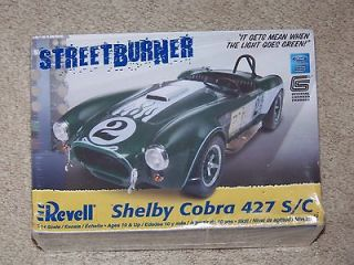 New Shelby Cobra 427 S/C Streetburner Model Kit 124 scale