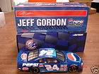 JEFF GORDON NASCAR PEPSI COLA MACHINE FRONT