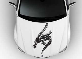 GATOR TRUCK BOAT TRAILER HOOD VINYL DECAL STICKER 040