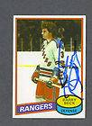 BARRY BECK SIGNED TOPPS CARD LOT 3 DIFF RANGERS