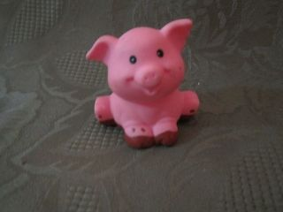 Fisher Price Little People Farm Barn Animal sound pet muddy pig swine
