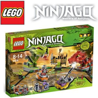 LEGO NINJAGO 9456 Ninja Spinner Battle Arena Sets NEW Factory Sealed
