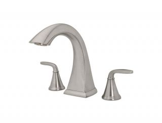 Price Pfister 806 PDKK Pasadena Deck Mounted Roman Tub Faucet, Brush