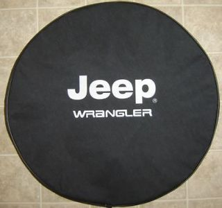 Brawny Series   Jeep® Wrangler Tire Cover 32   33 Heavy DenimVinyl