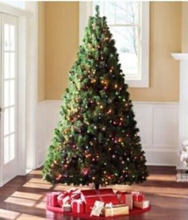 Madison Colorado Pine 6.5 ft Christmas Tree Pre lit   Multi color