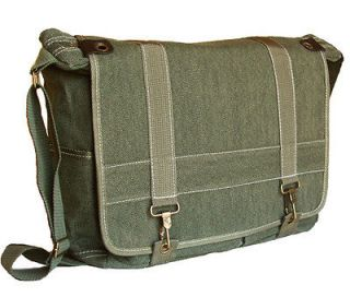 MILITARY STYLE CANVAS MESSENGER BAG SHOULDER BAG BACKPAC