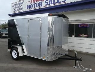 Enclosed Race Car Trailer Motorcycle or Go Kart Hauler    Custom