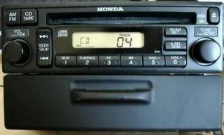 01 02 03 04 05 HONDA Odyssey Accord Civic CRV Radio Stereo CD Player