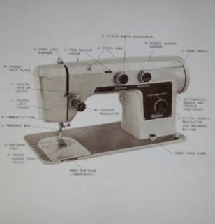 Montgomery Ward URR 277 E Sewing Machine Manual On CD