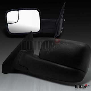 RAM 1500 TOW CAMPER FOLDING MANUAL EXTEND SIDE MIRRORS (Fits 2007
