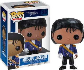 Michael Jackson   Military Pop Vinyl Figure * NEW In Box * Funko * MJ