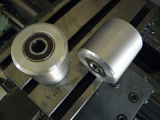 Newly listed Aluminum contact, idler wheels for belt grinder, knife